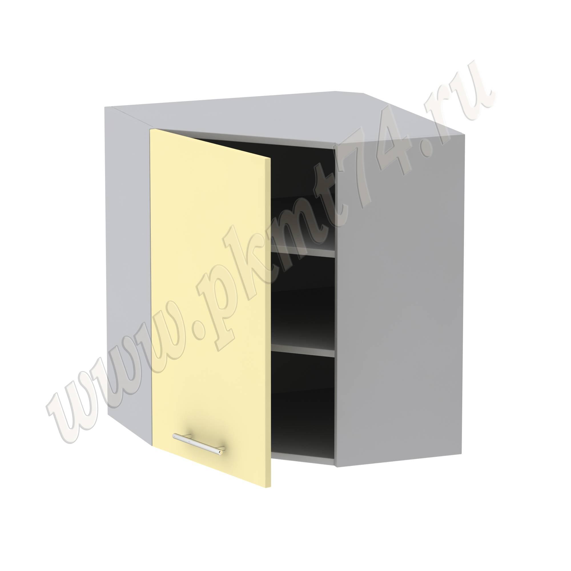 Шкаф угловой кухонный с полками
