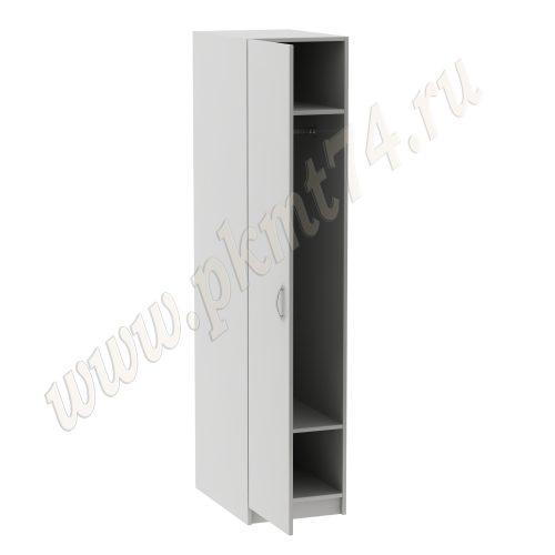 Шкаф узкий для одежды врача MT 14-8 Светло-серый