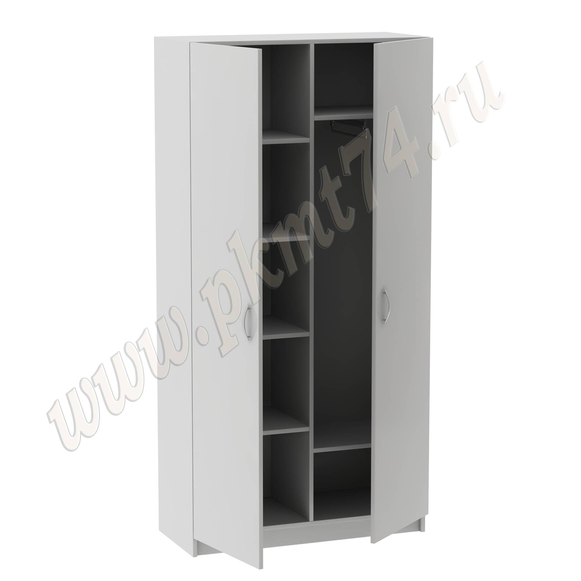Шкаф комбинированный широкий MT 14-10 Серый