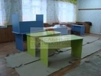 Сборка столов в группах