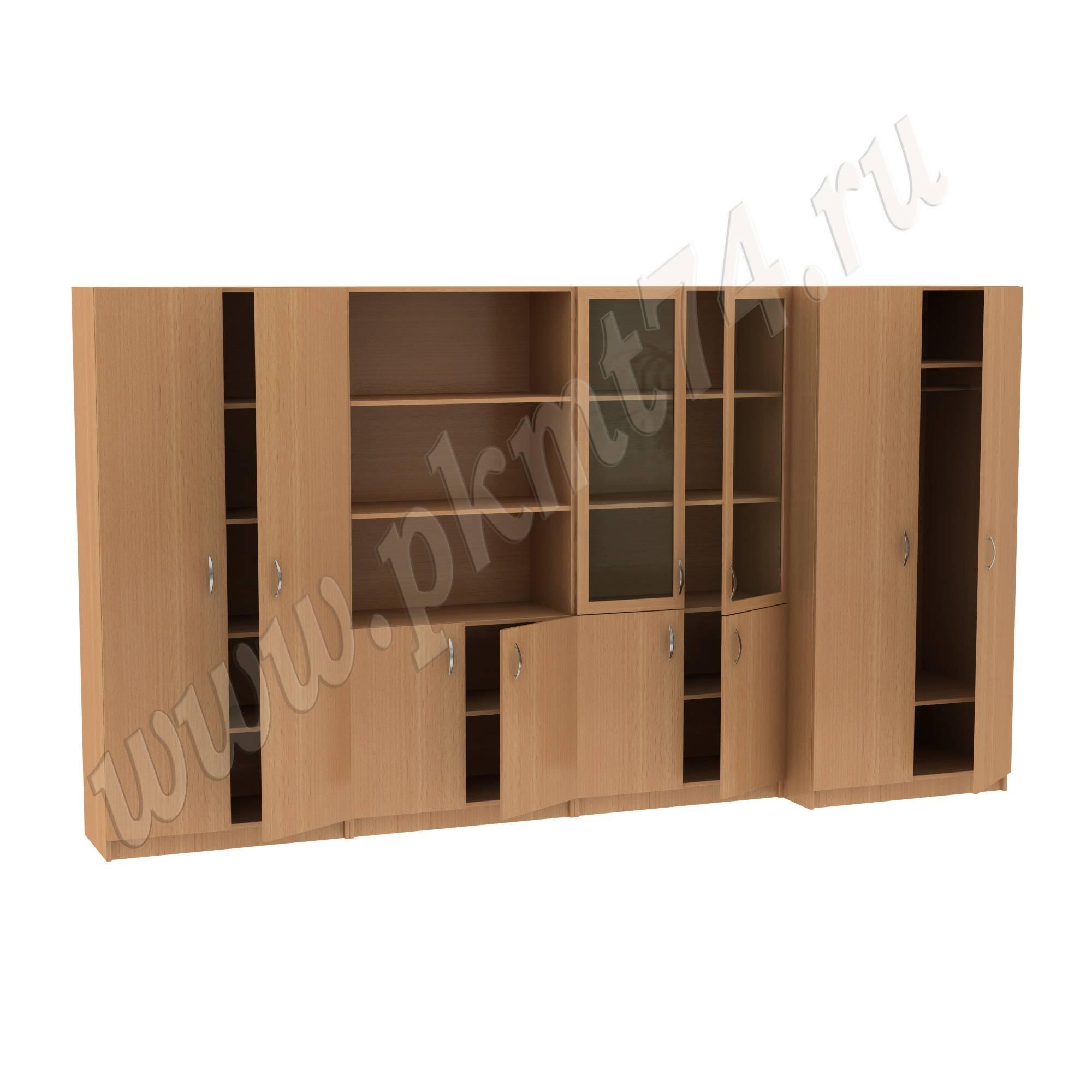 Секция из четырех шкафов МТ 14-34-2 Бук-1