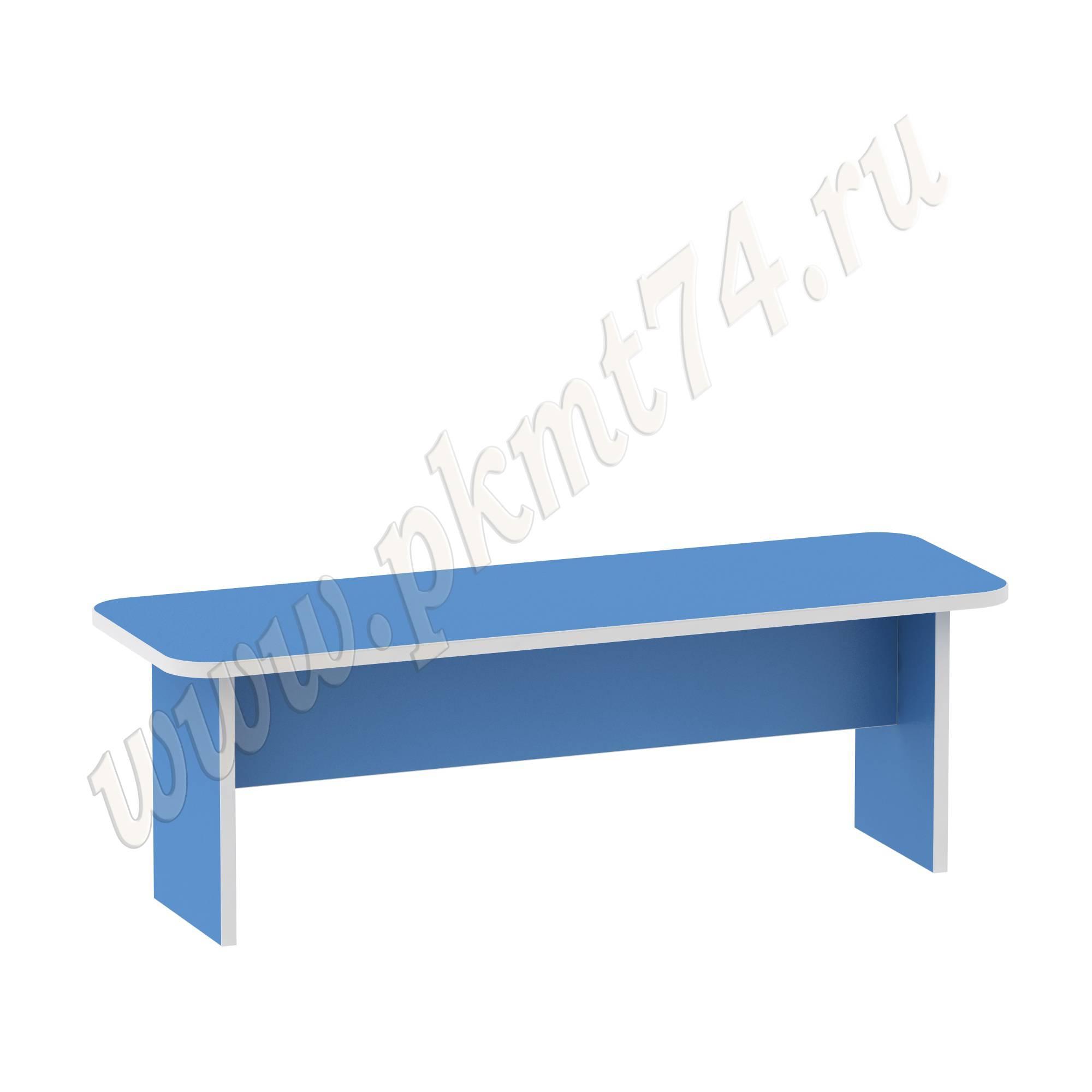 Скамья для одевания голубая МТ 17-72 Светлосиний