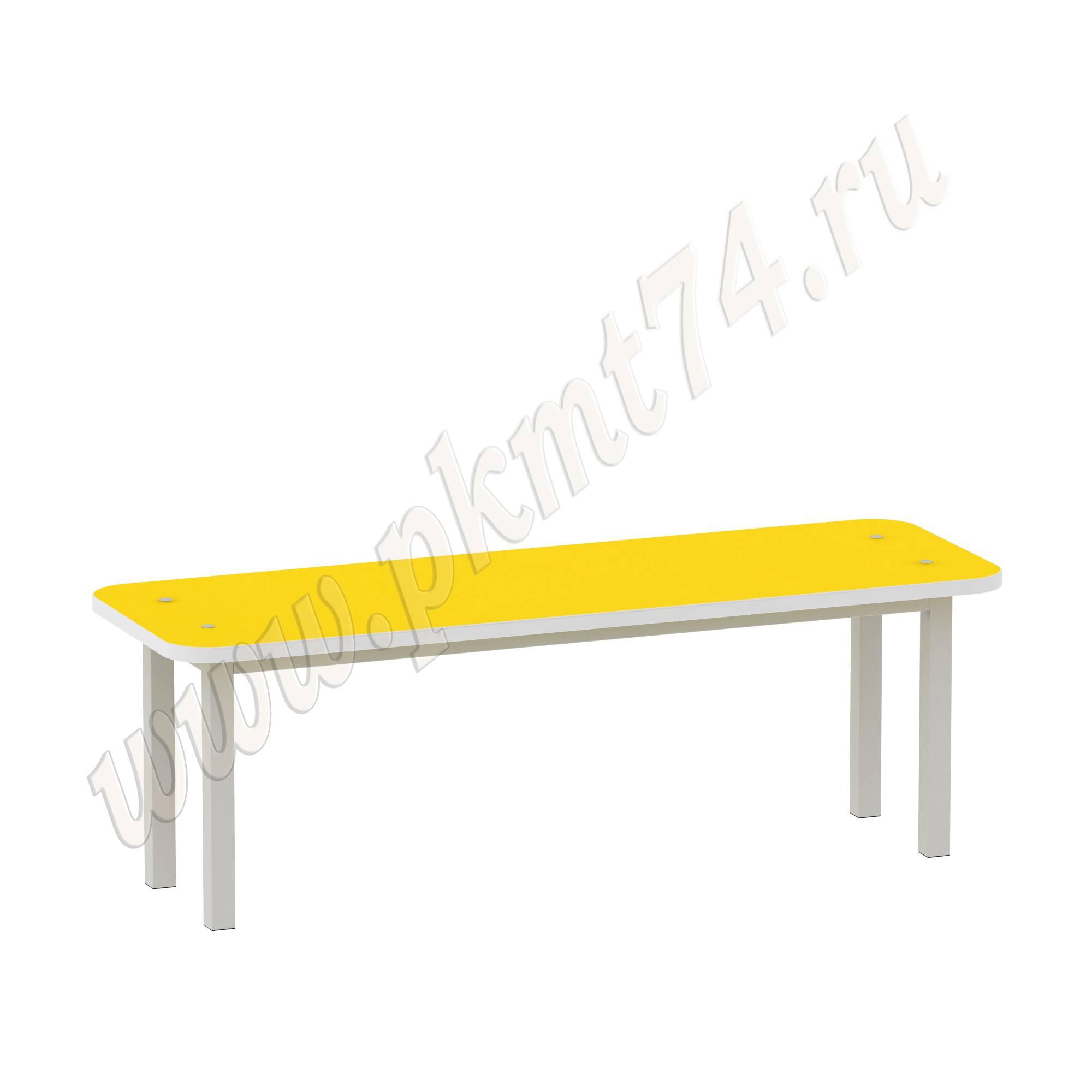 Скамья на каркасе для одевания МТ 17-75 Желтый