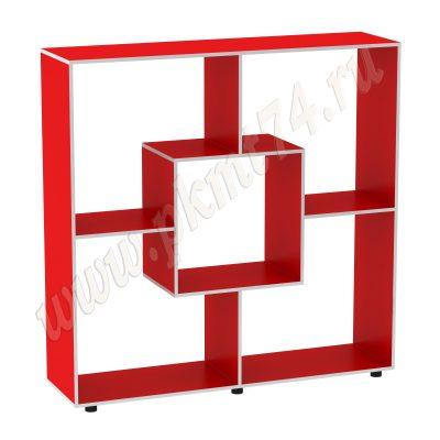 Стеллаж для мягких игрушек МТ 17-37 Красный