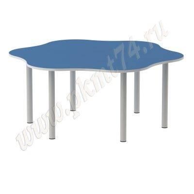 Стол детский шестиместный МТ 17-71 Голубой