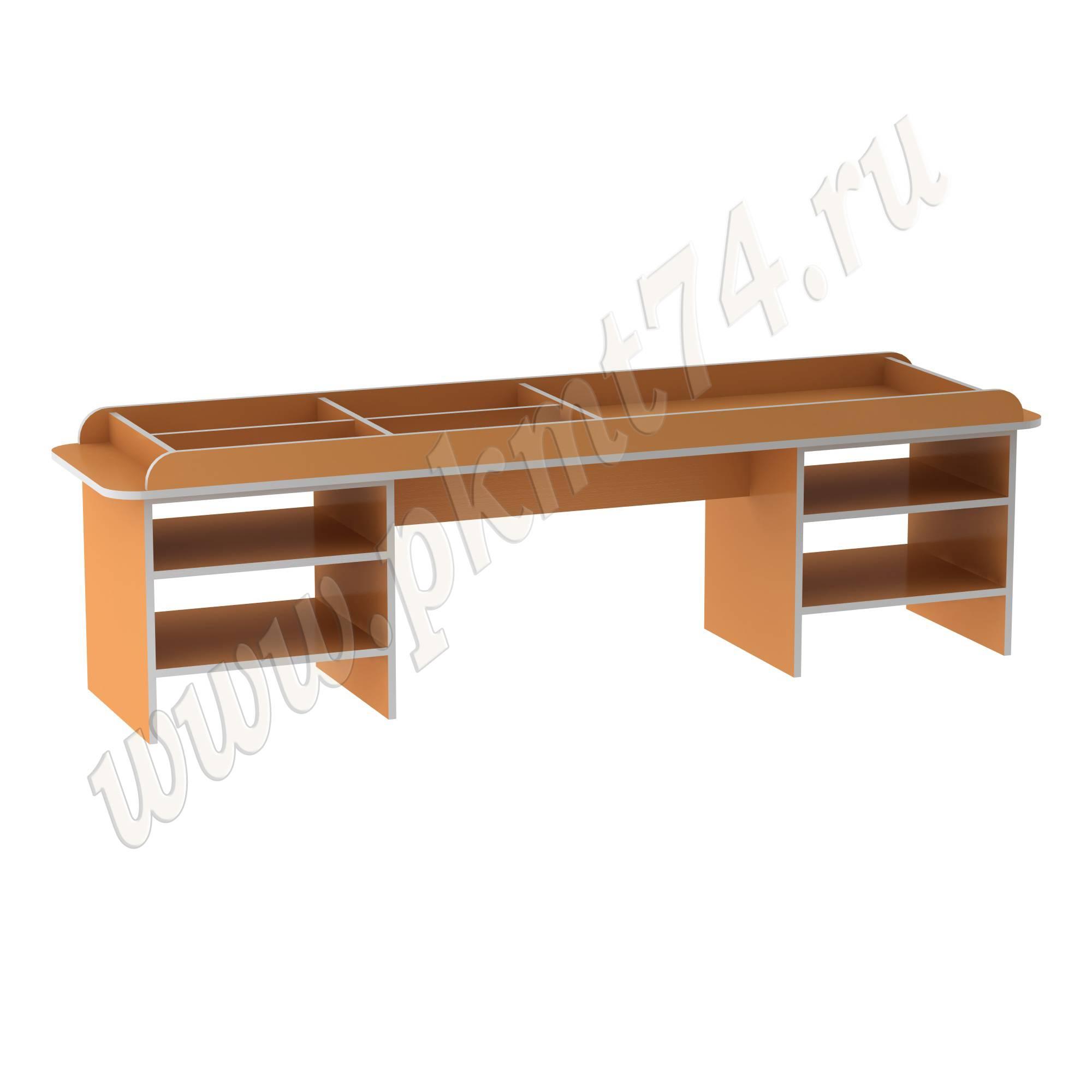 Стол для дидактических занятий с детьми МТ 17-68 Оранжевый