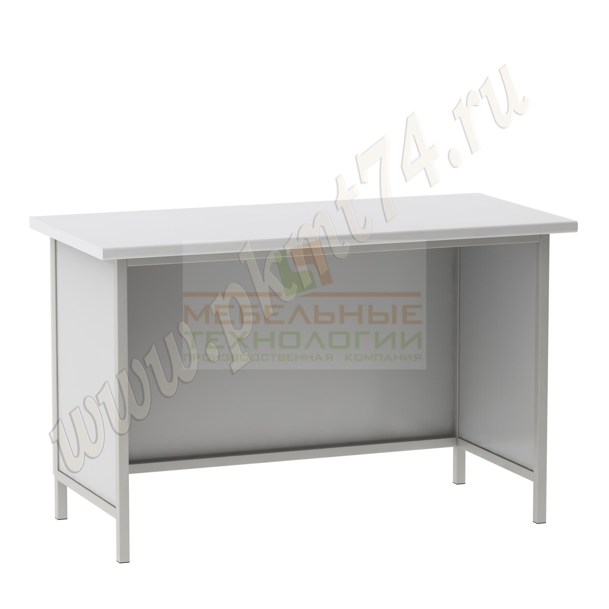 Стол для кабинета химии усиленный МТ 23-1 Серый