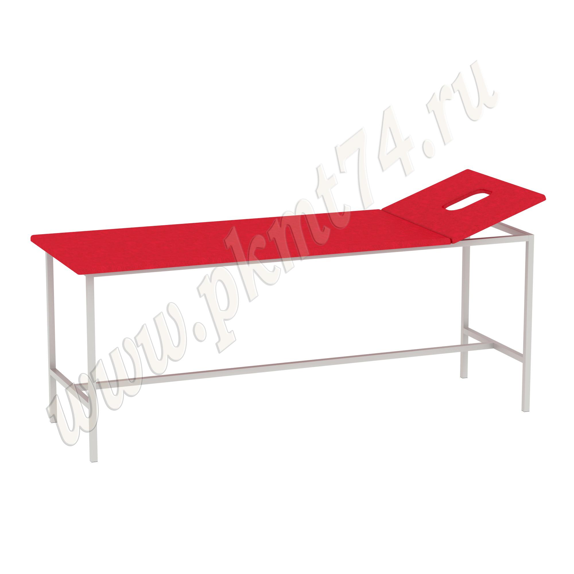 Стол для массажа Мт-05-10-3 Кож. зам Красный