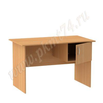 Стол для общежития с тумбой подвесной МТ 06-3 Бук