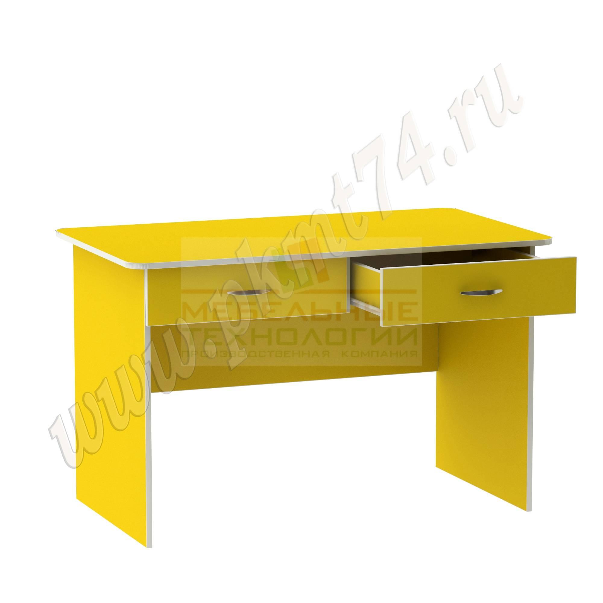Стол для воспитателя [Цвет на выбор:: Желтый]