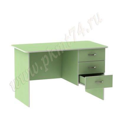 Стол для воспитателя с тремя ящиками МТ 06-10 Салатовый