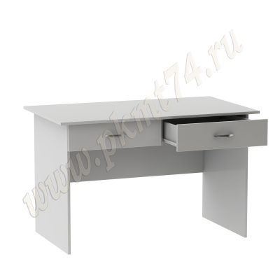 Стол для врача письменный с двумя ящиками МТ 06-6 Серый