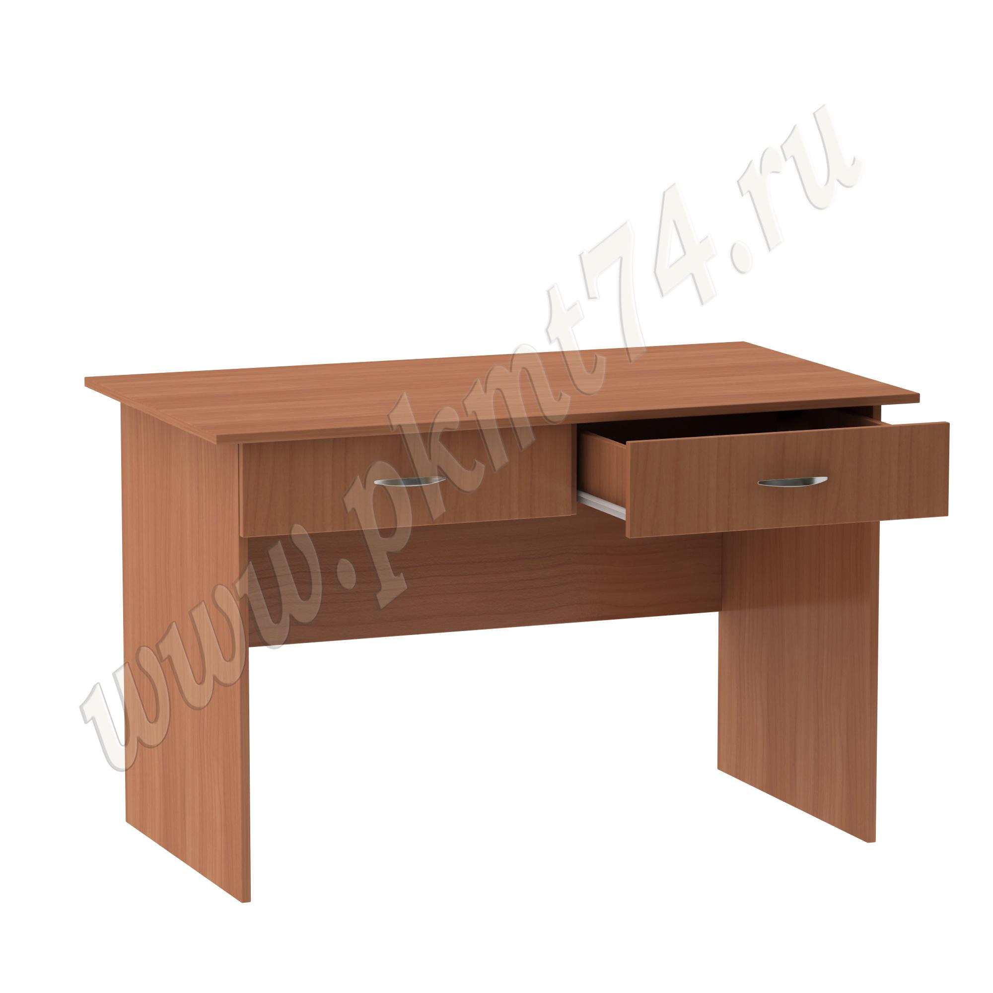 Стол для врача письменный с двумя ящиками [Цвет ЛДСП:: Вишня Оксфорд]