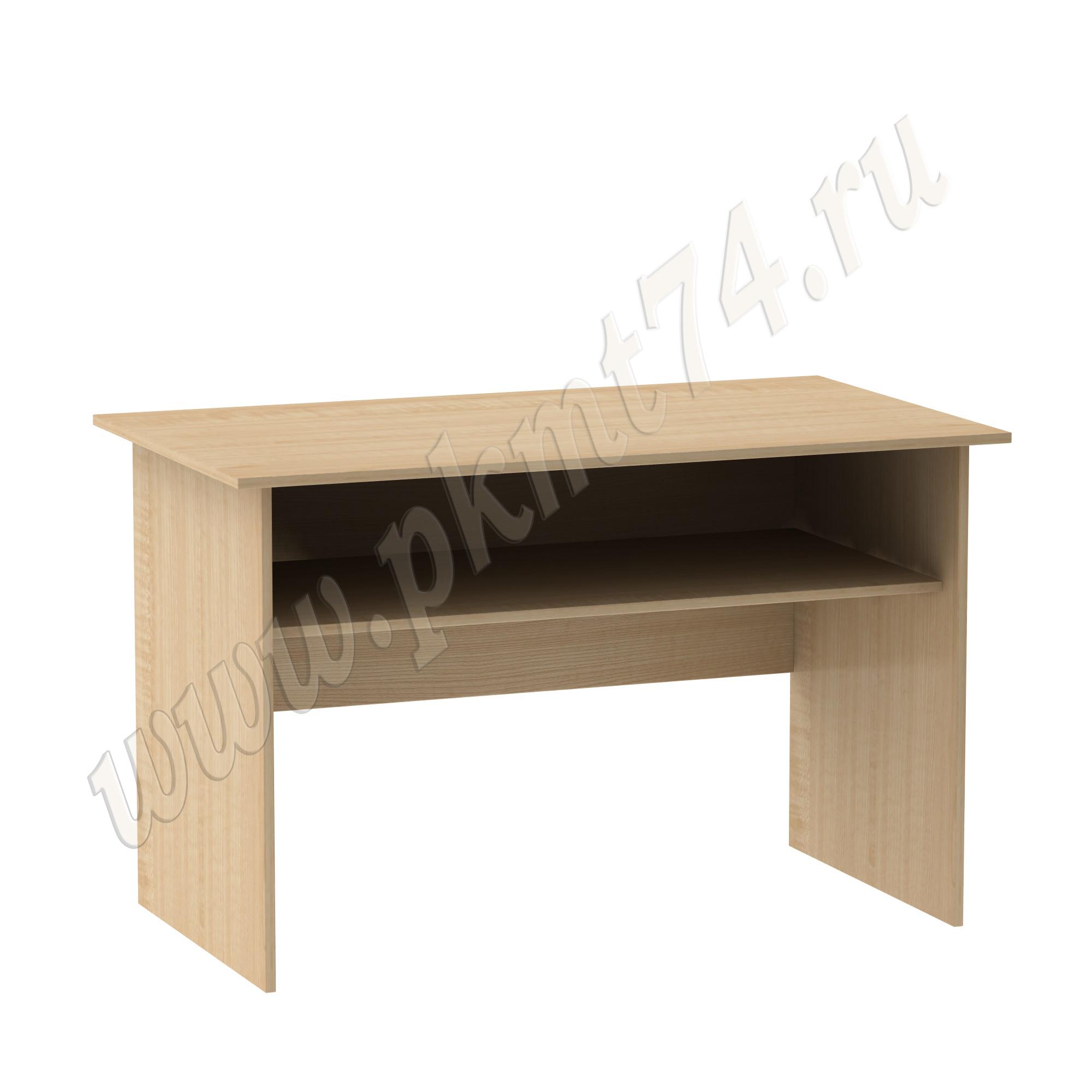 Стол для врача письменный с полкой [Цвет ЛДСП:: Клён]