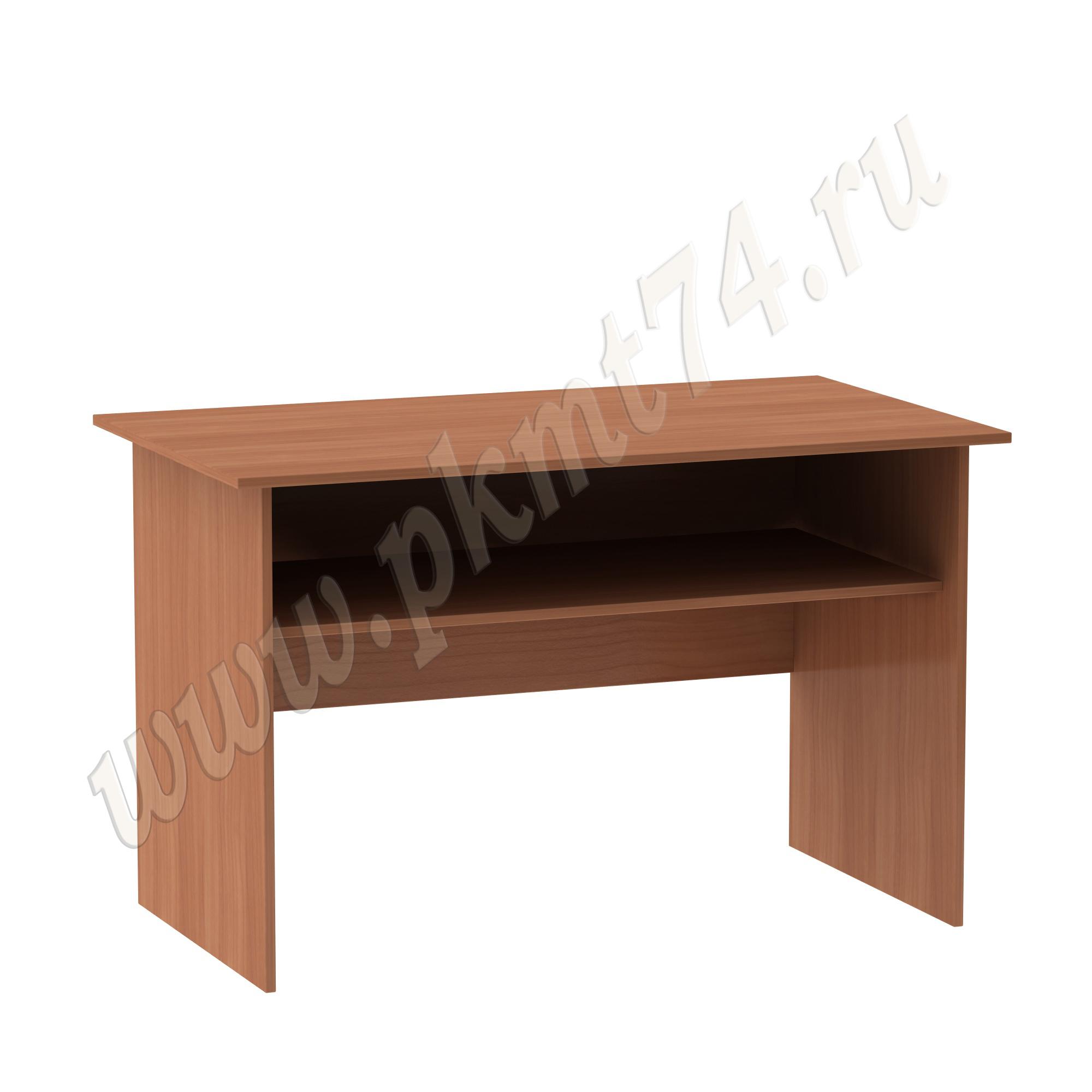 Стол для врача письменный с полкой [Цвет ЛДСП:: Вишня Оксфорд]