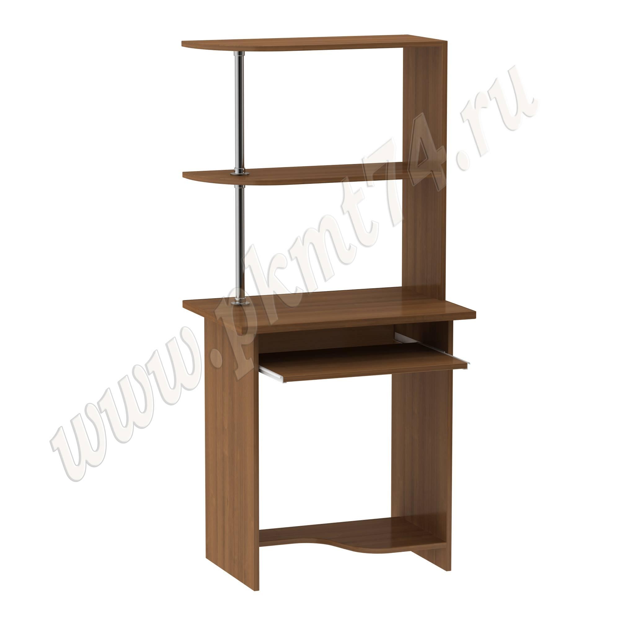 Стол для ноутбука с надставкой [Цвета ЛДСП на выбор:: Орех]