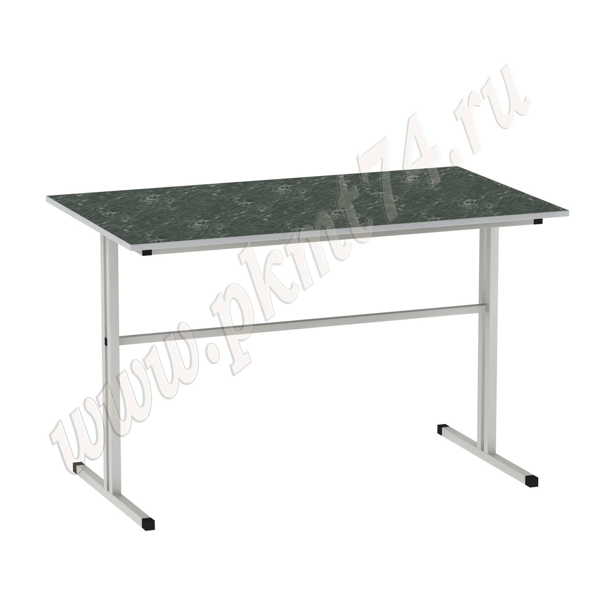 Стол для школьной столовой [Цвет столешницы (СКИФ):: Мрамор зеленый (27)]