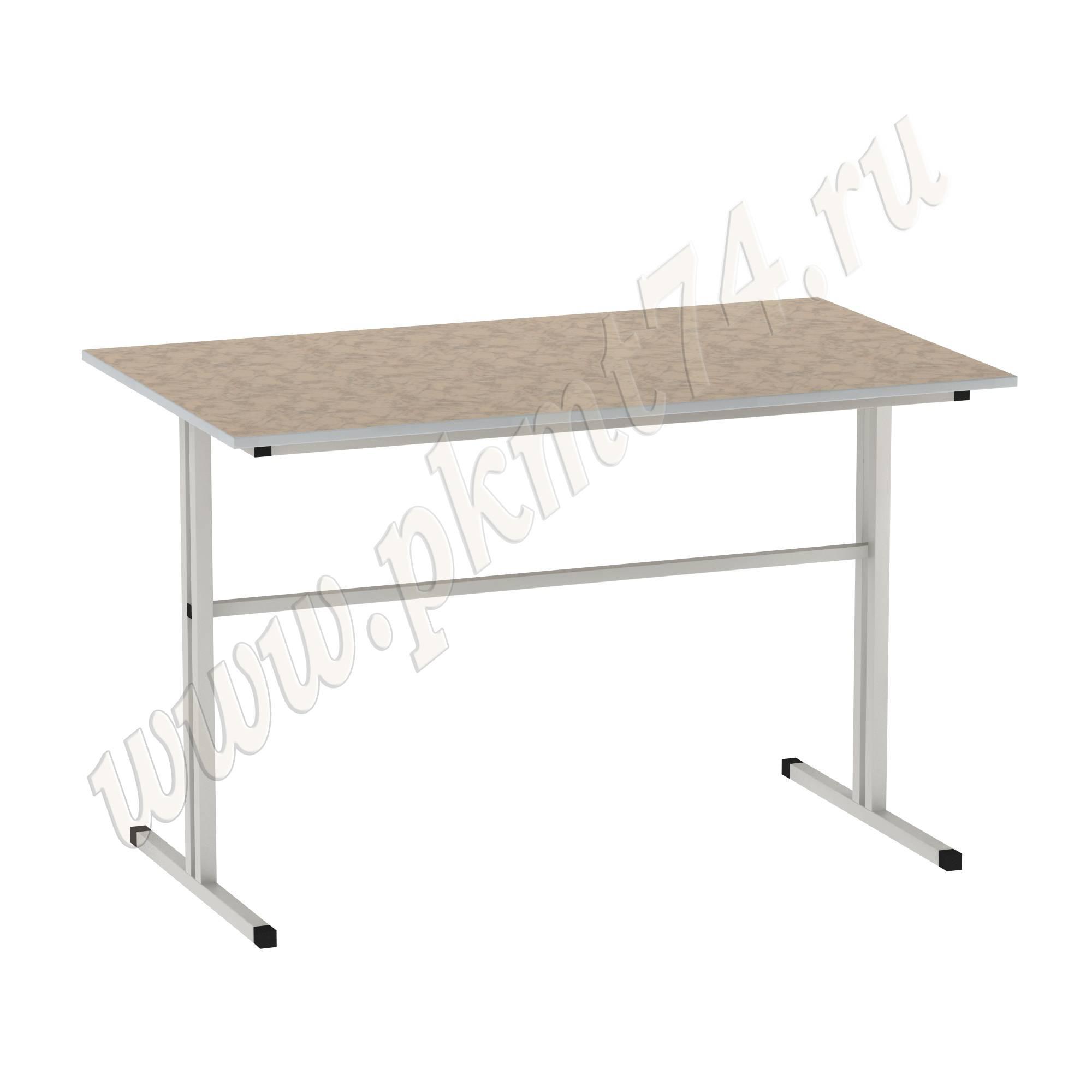 Стол для школьной столовой [Цвет столешницы (СКИФ):: Мрамор Розовый (34)]