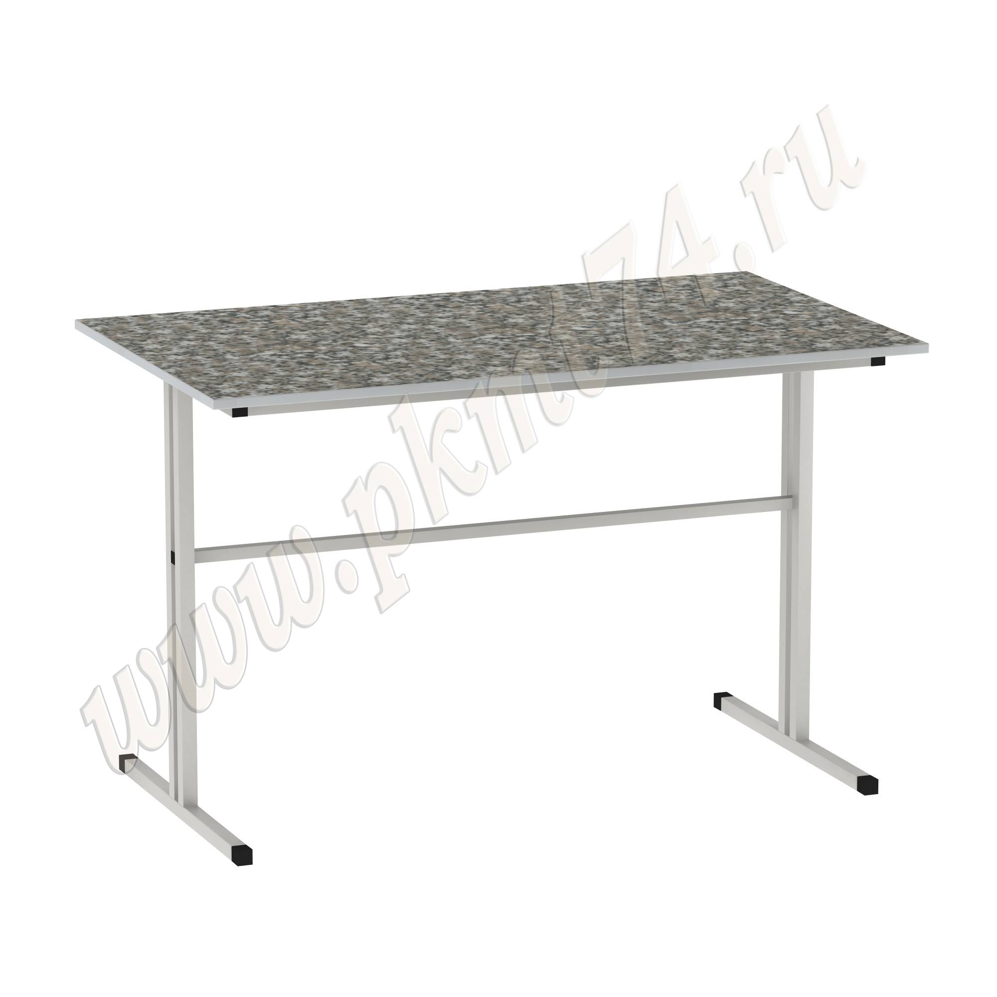 Стол для школьной столовой [Цвет столешницы (СКИФ):: Гранит Пестрый (36)]