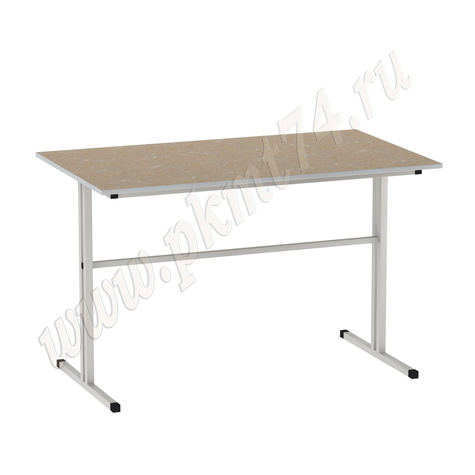 Стол для школьной столовой [Цвет столешницы (СКИФ):: Оникс Желтый (47)]