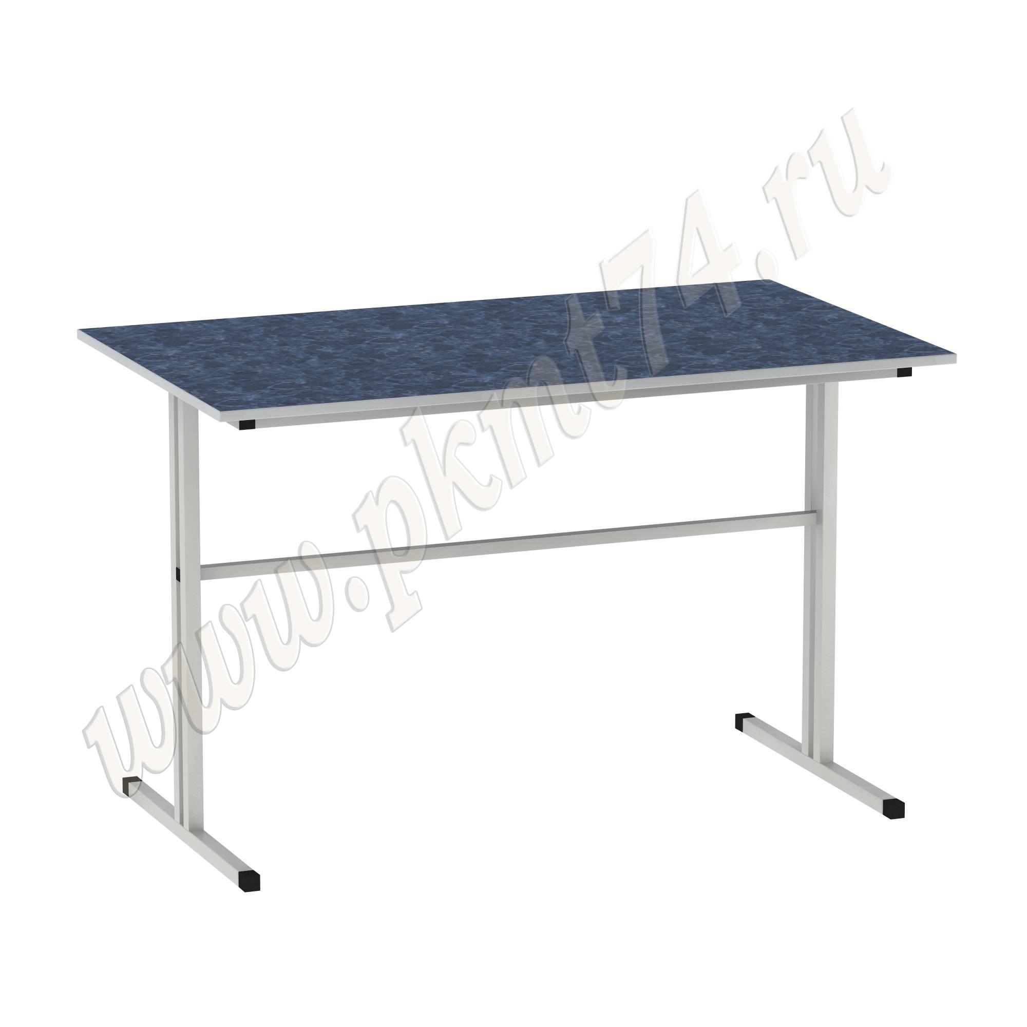 Стол для школьной столовой [Цвет столешницы (СКИФ):: Голубой Каньон (83)]