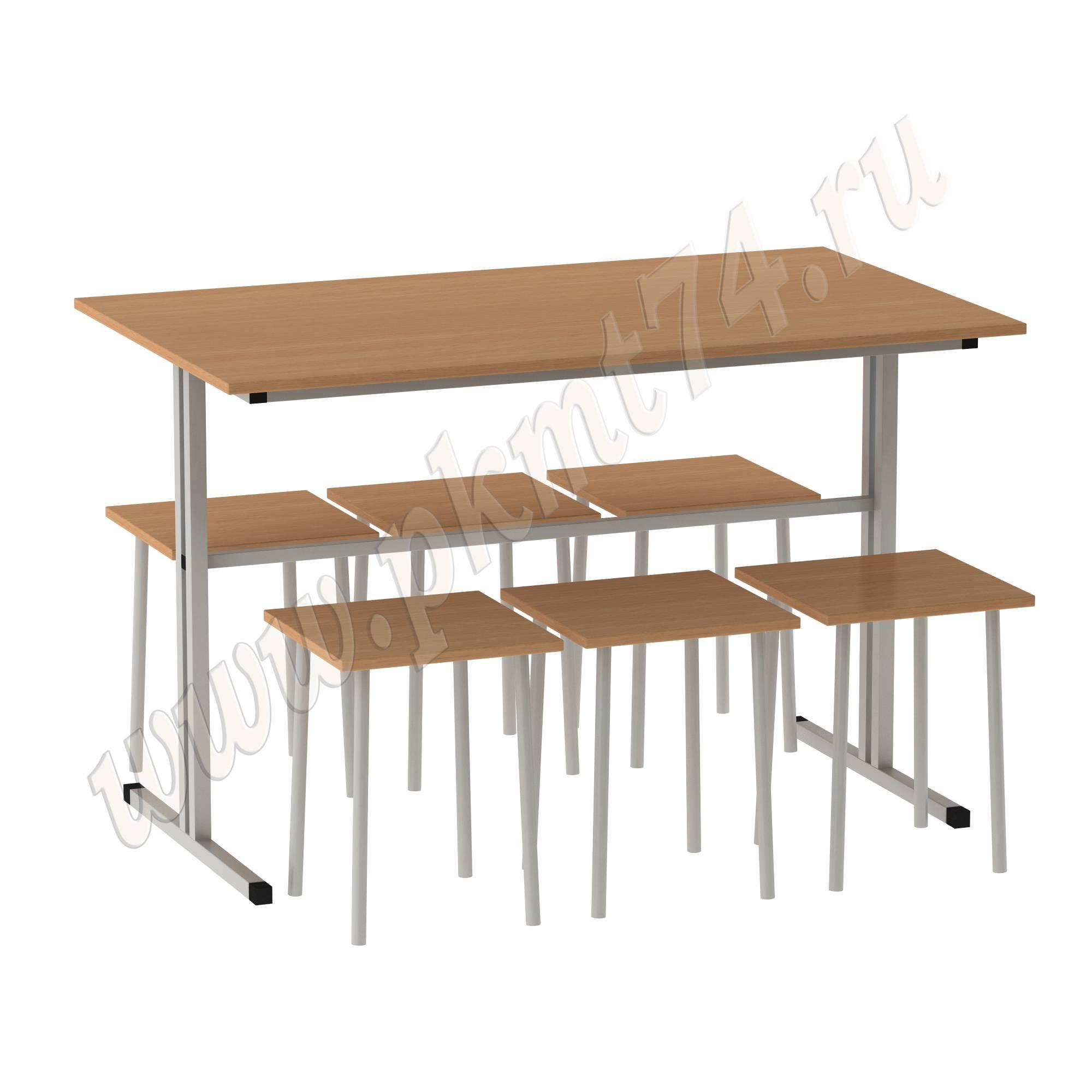 Стол обеденный с табуретами MT 20-9 Бук
