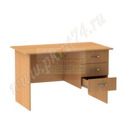 Стол однотумбовый для общежития МТ 06-10 Бук