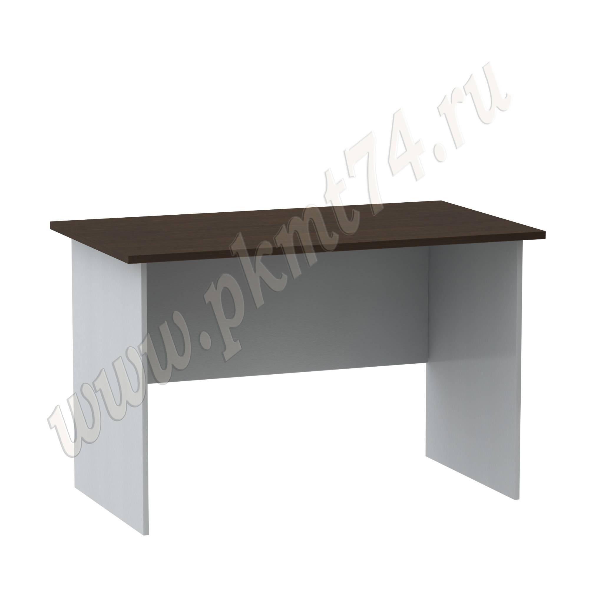 Стол письменный [Цвета ЛДСП на выбор:: Алюминий-Венге]