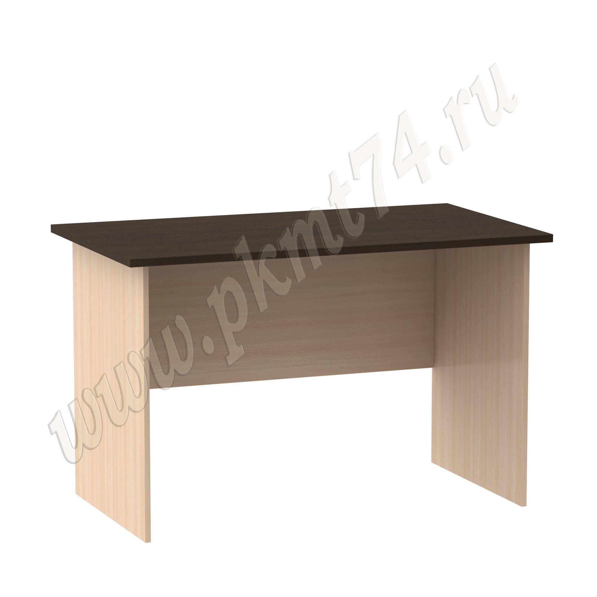 Стол письменный [Цвета ЛДСП на выбор:: Молочный-Венге]