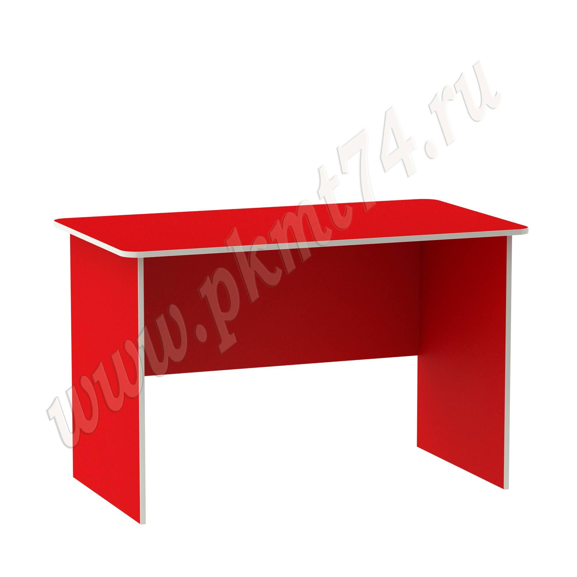 Стол письменный для воспитателя [Цвет на выбор:: Красный]