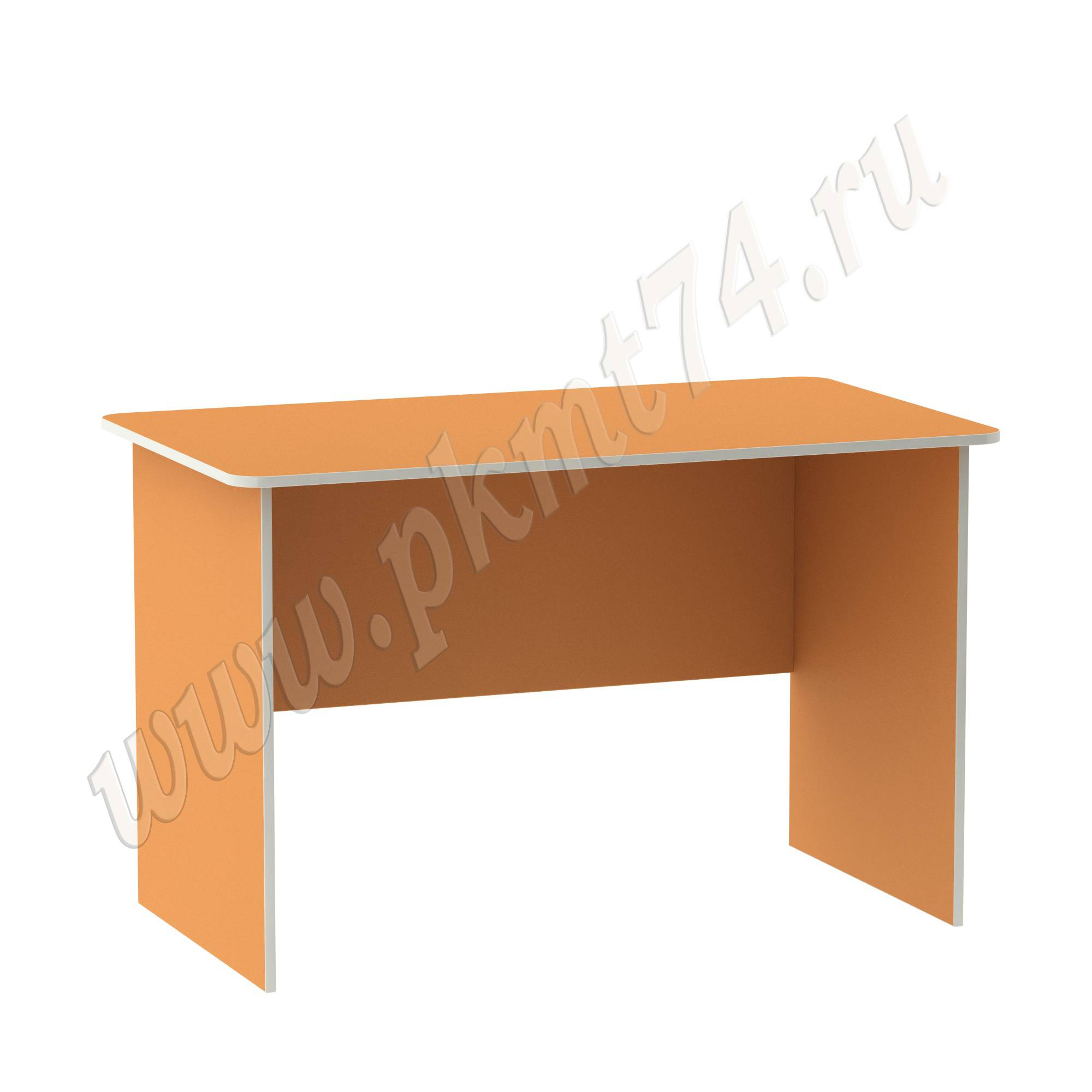 Стол письменный для воспитателя [Цвет на выбор:: Оранжевый (Манго)]