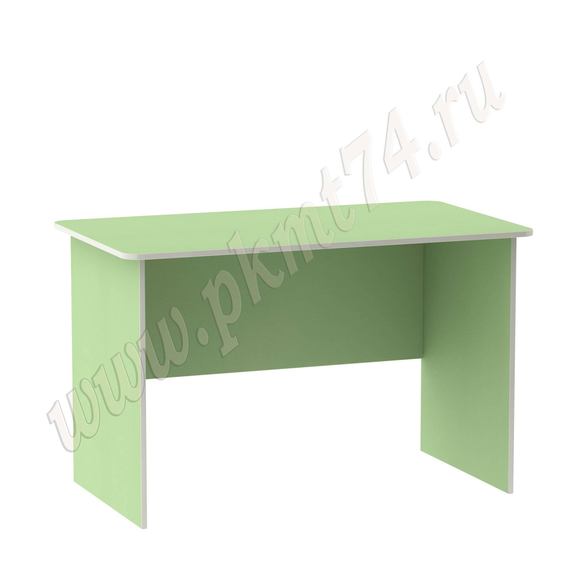 Стол письменный для воспитателя [Цвет на выбор:: Салатовый]