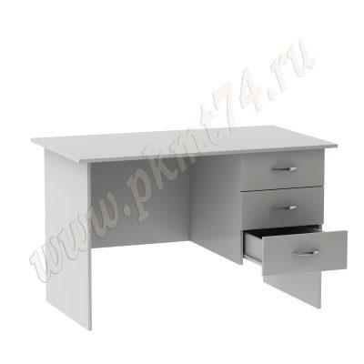 Стол письменный для врача с ящиками МТ 06-10 Серый