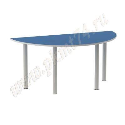 Стол полукруглый МТ 17-70 Голубой