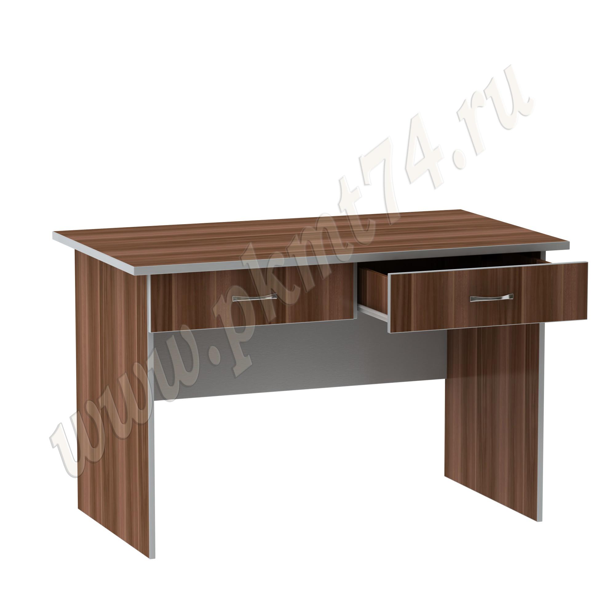 Стол рабочий офисный МТ 06-6 Слива-Алюминий