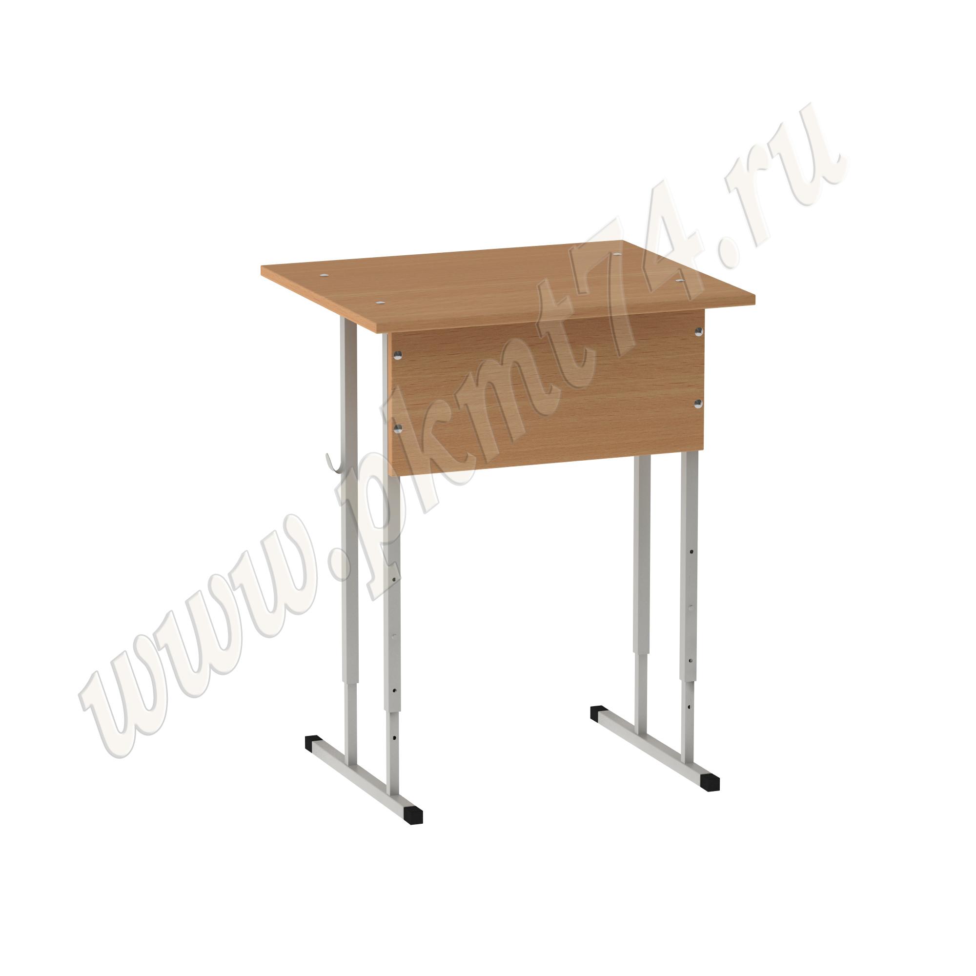 Стол регулируемый одноместный 5-7 MT 01-7 Бук