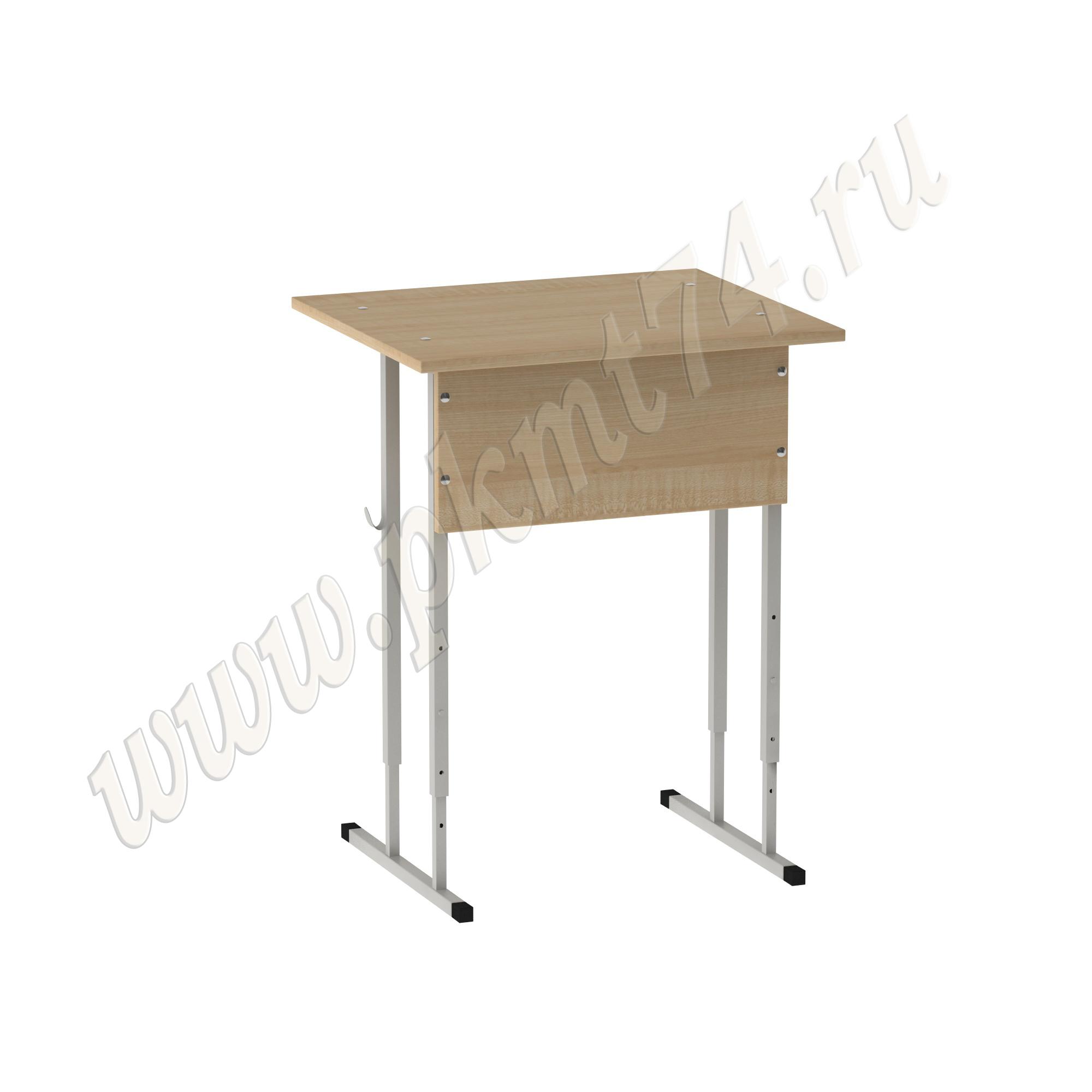 Стол регулируемый одноместный [Цвет ЛДСП:: Клён]