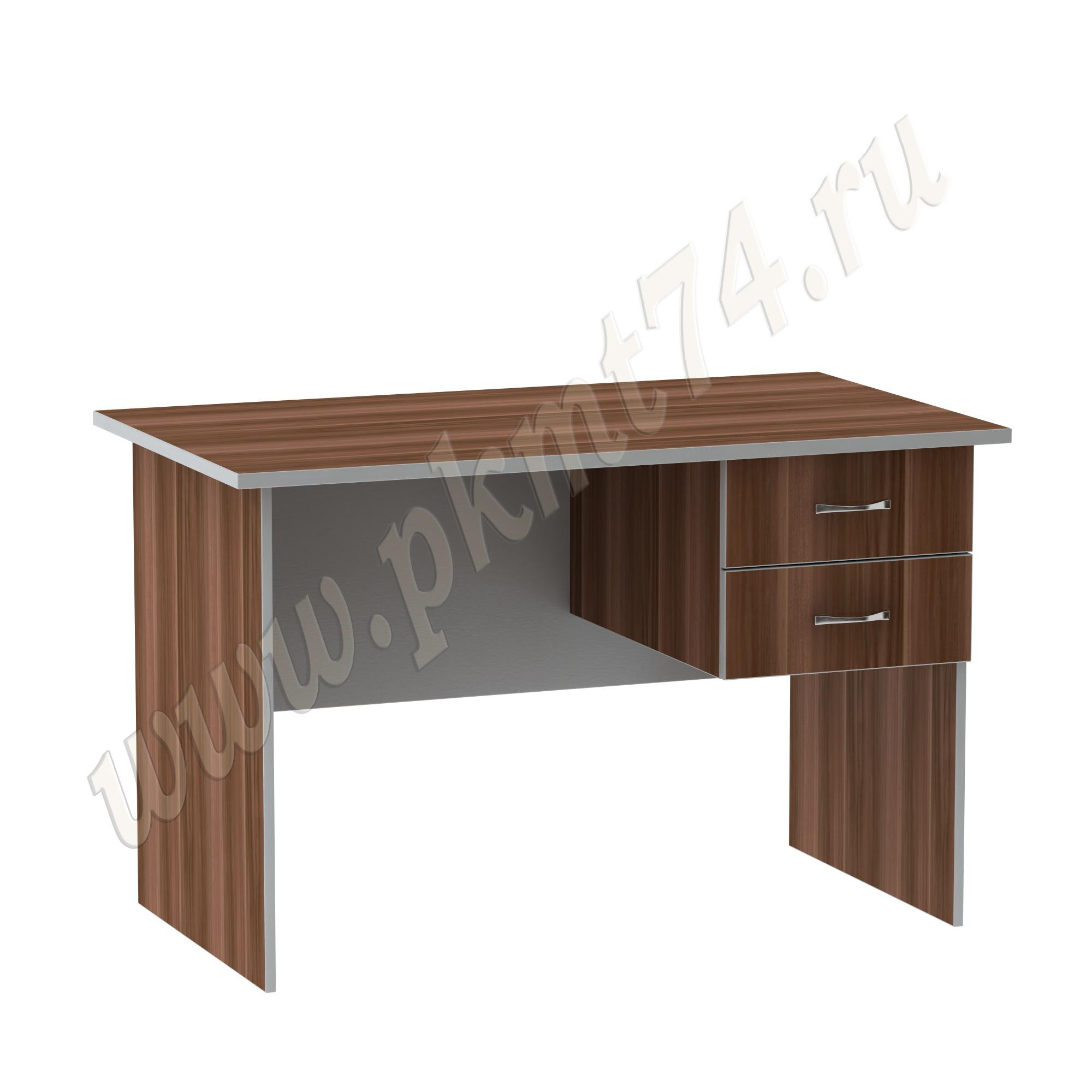 Стол с подвесной тумбой МТ 06-8 Слива-Алюминий