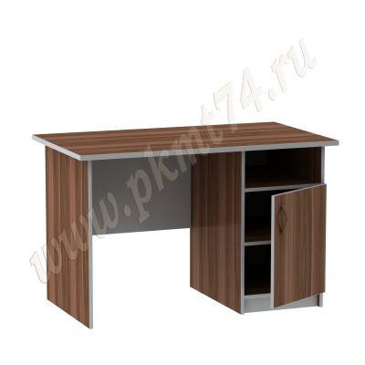 Стол с тумбой МТ 06-7 Слива-Алюминий