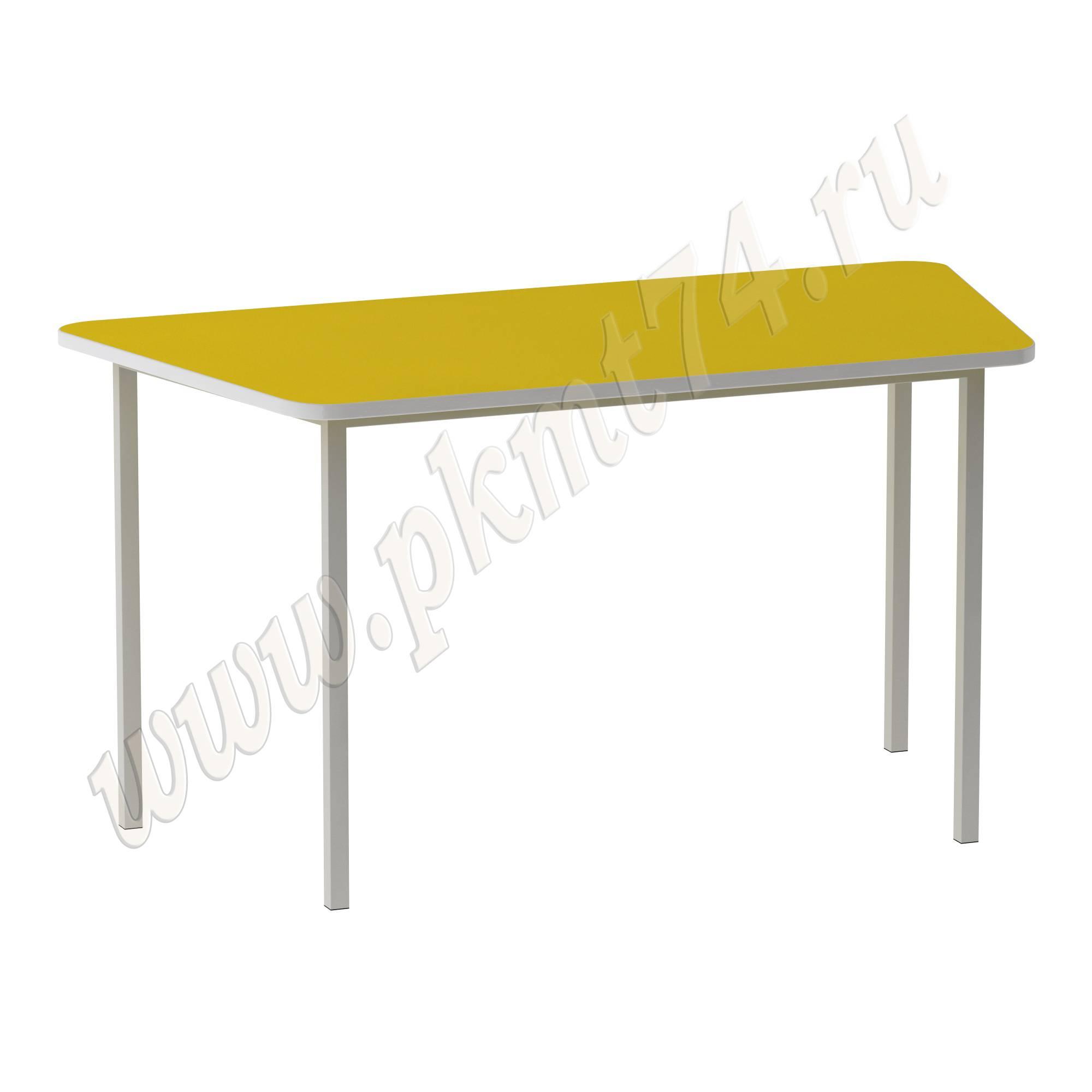Стол трапециевидной формы МТ 17-8 Желтый