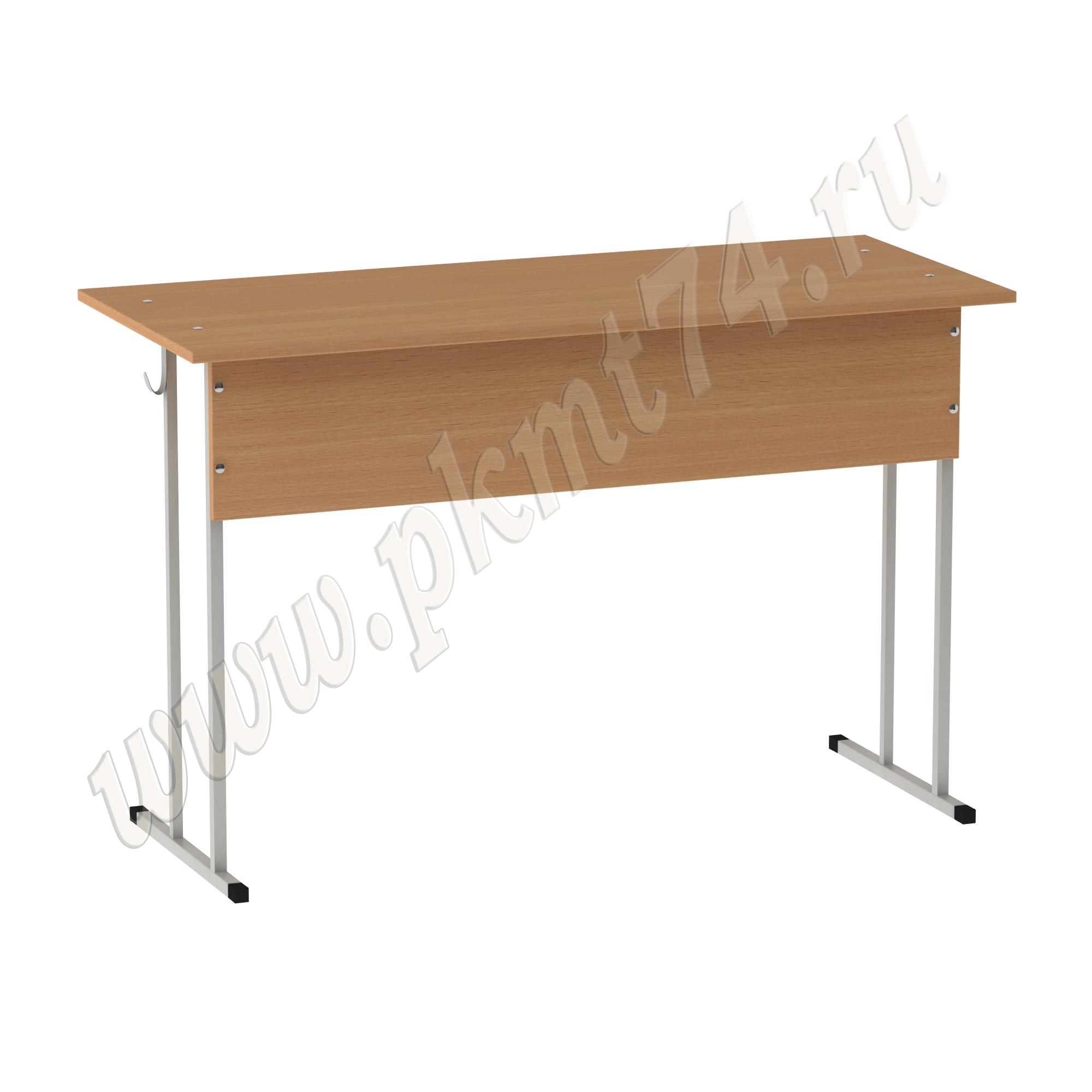 Стол ученический двухместный нерегулируемый МТ 01-2 Бук