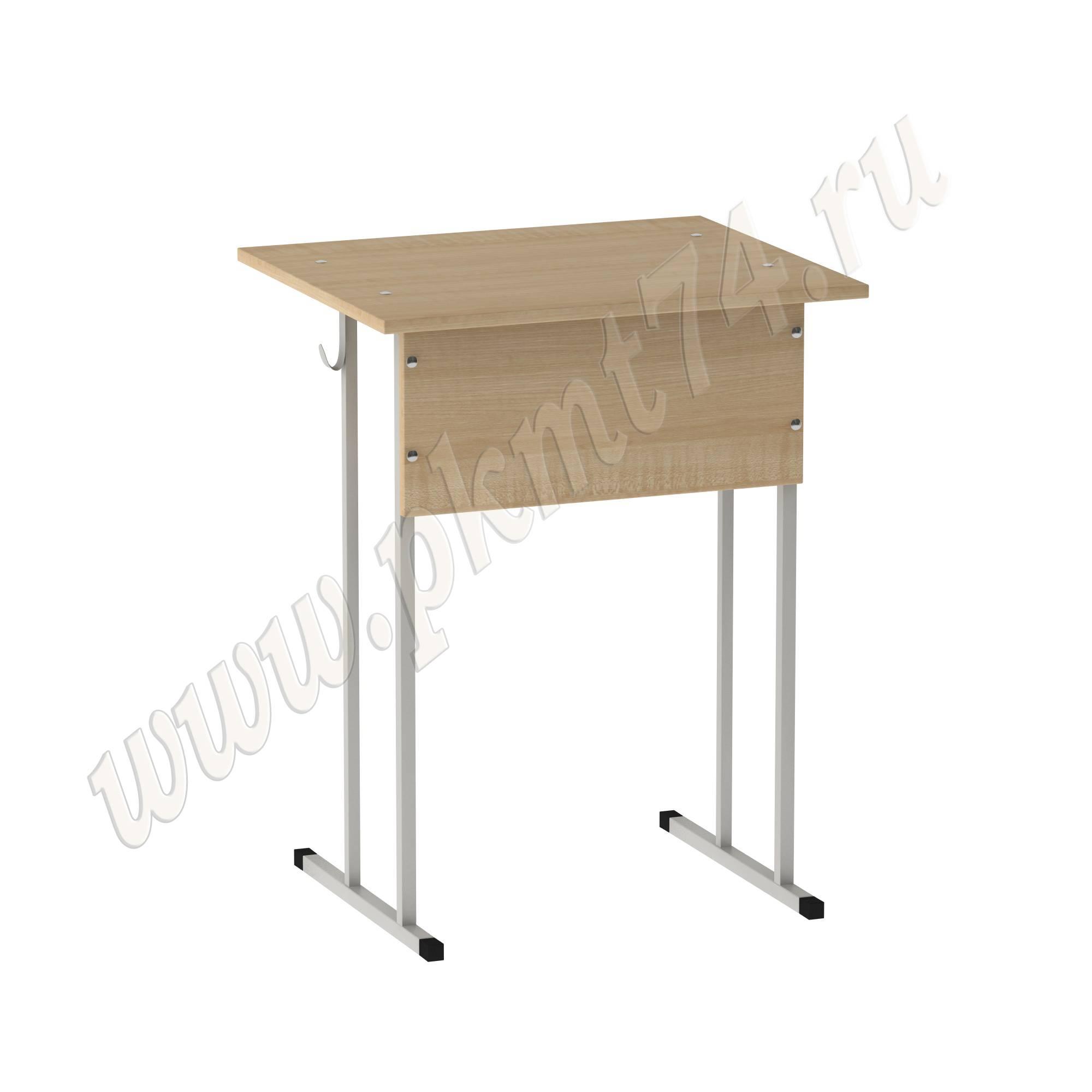 Стол ученический одноместный нерегулируемый [Цвет ЛДСП:: Клён]