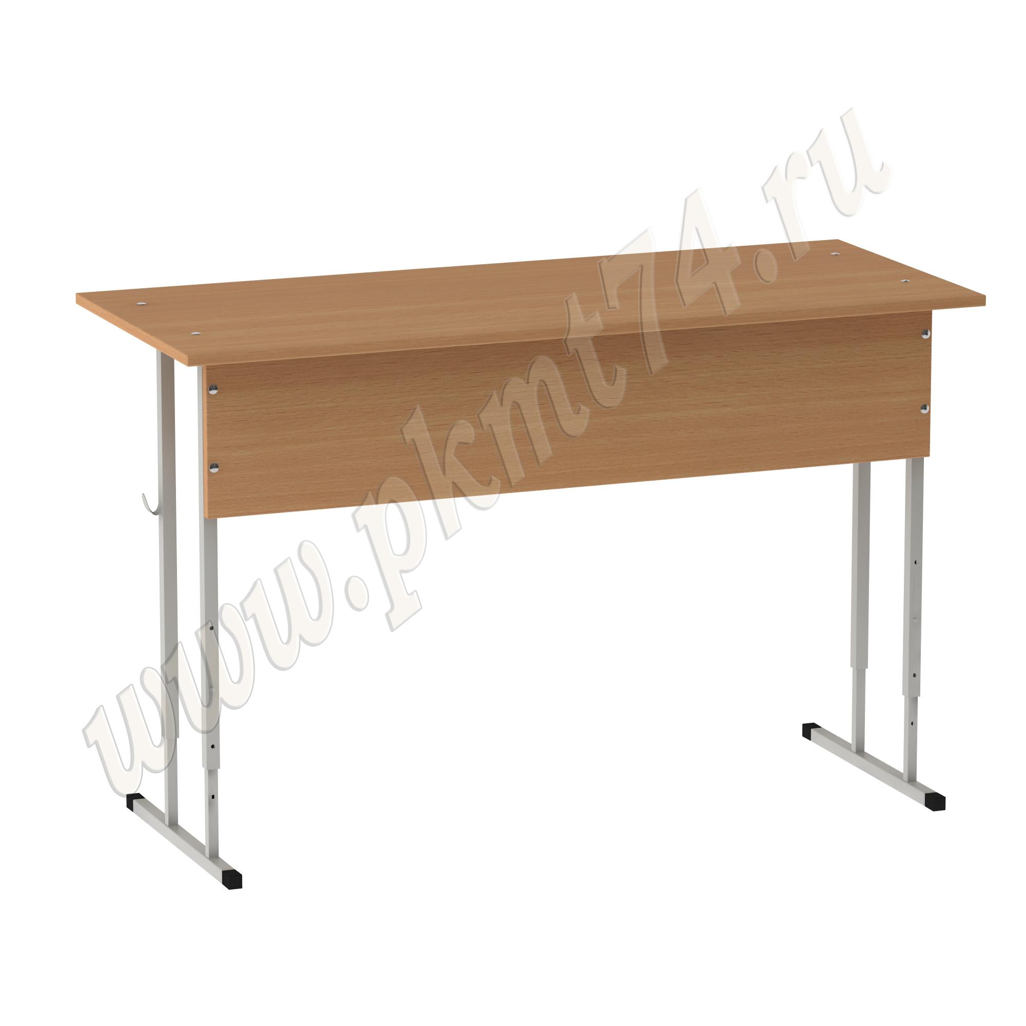 Стол ученический регулируемый усиленный MT 01-3 Бук