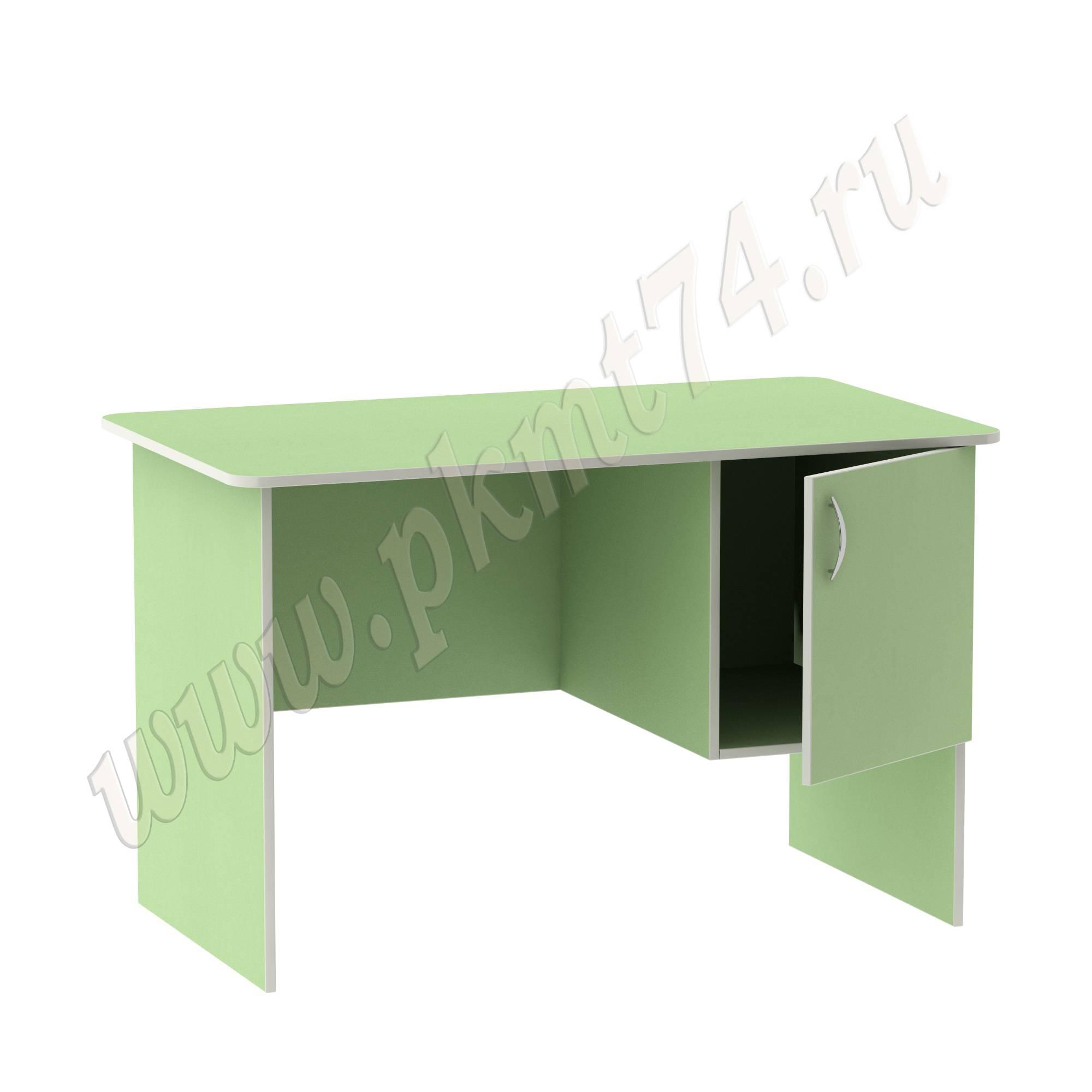 Стол воспитателя с вместительным ящичком МТ 06-5 Салатовый