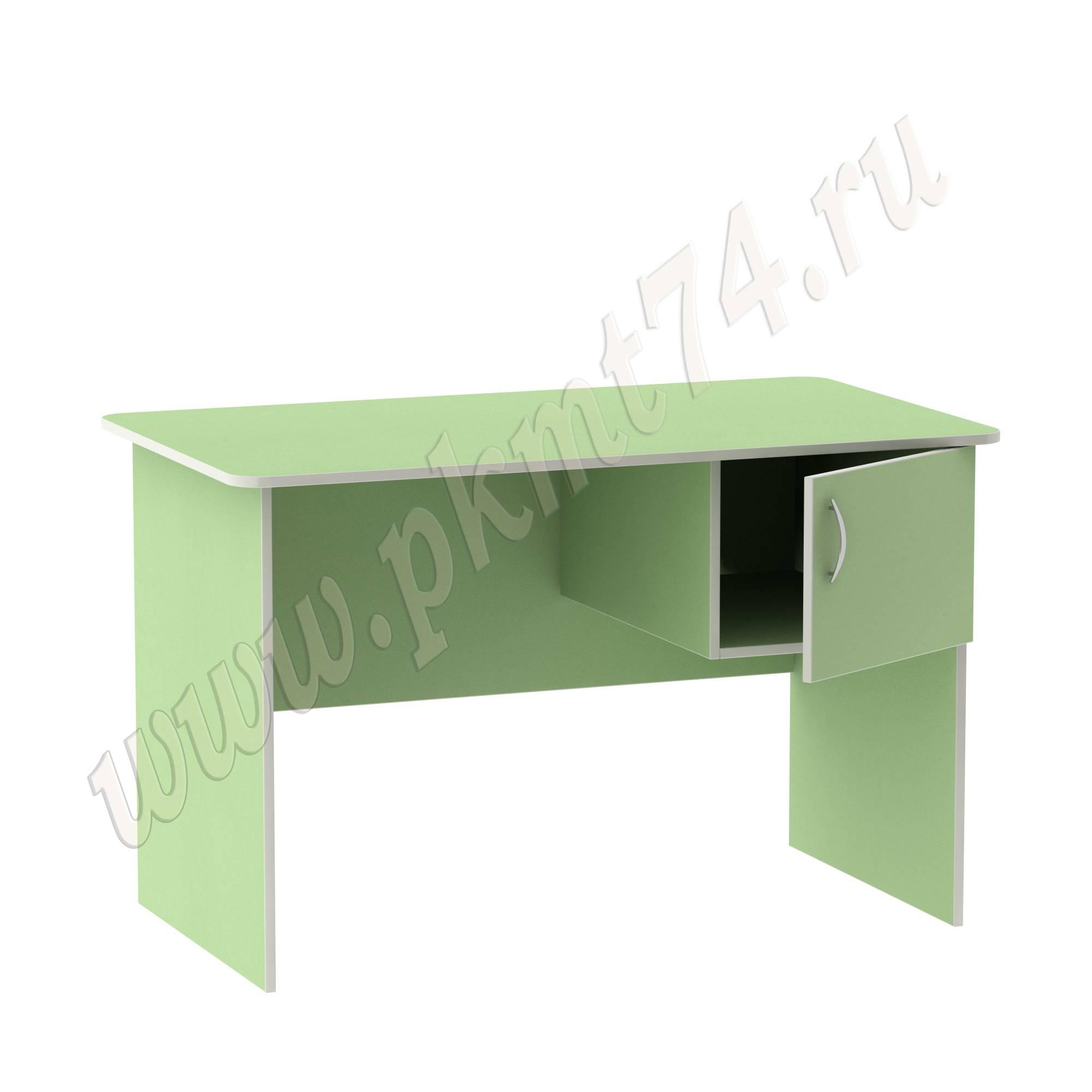 Стол воспитателя с ящиком [Цвет на выбор:: Салатовый]