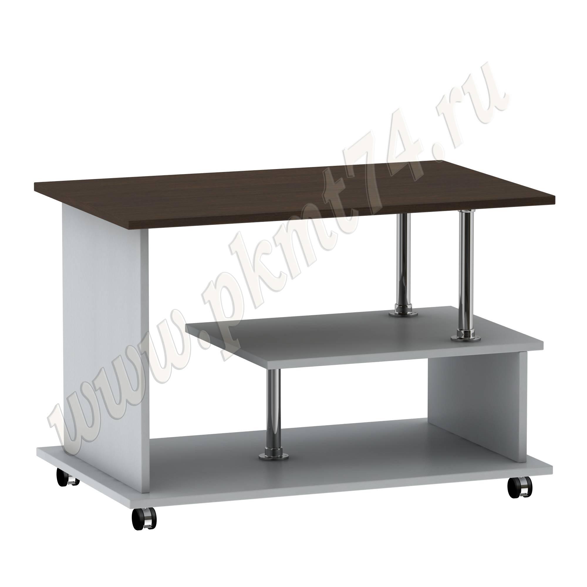 Журнальный стол G [Стандартный цвет:: Орех; Цвета ЛДСП на выбор:: Алюминий-Венге]