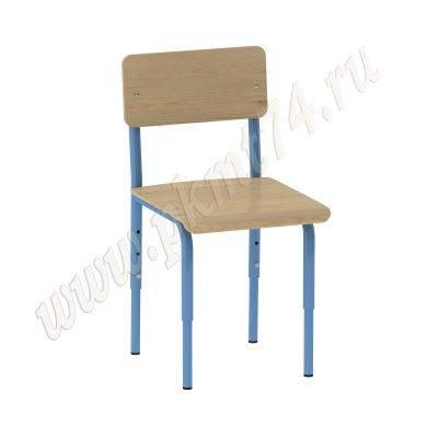 Стул для детского сада МТ 17-55 синий каркас