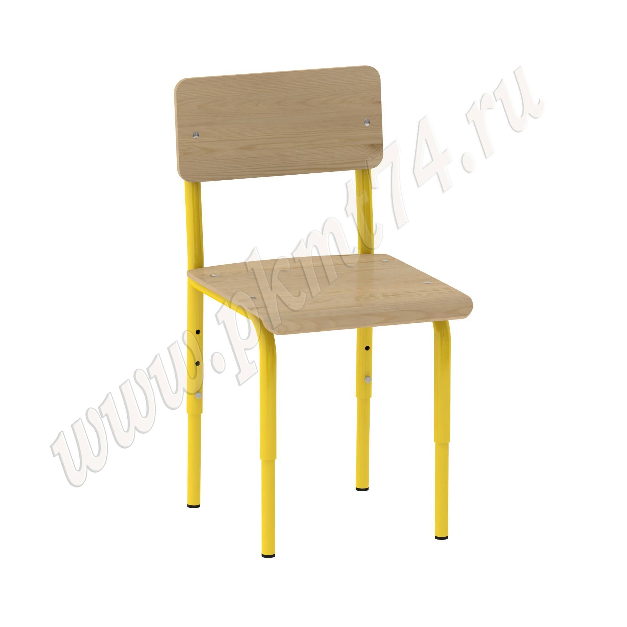 Стул для детского сада [Цвет каркаса:: Желтый]