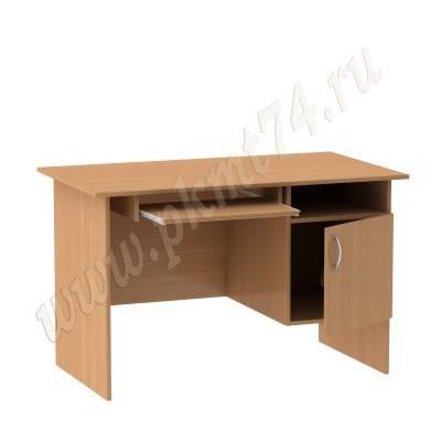 Стол компьютерный с тумбой МТ 07-2 Бук