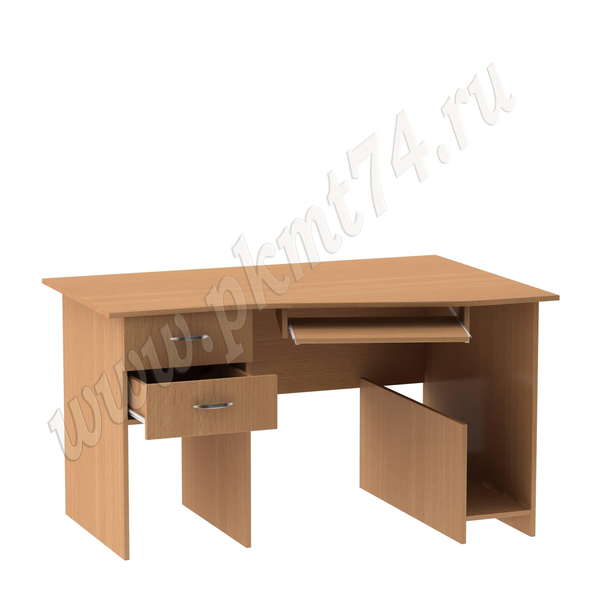 Стол компьютерный угловой с тумбой МТ 07-9 Бук
